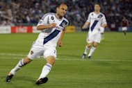 Strikers Landon Donovan, pictured here in April 2012, and Jozy Altidore and defender Oguchi Onyewu were among 11 players announced on Sunday by US Soccer as additions to the American training camp ahead of 2014 World Cup qualifiers