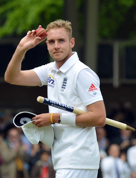 Cricket - Stuart Broad File Photo