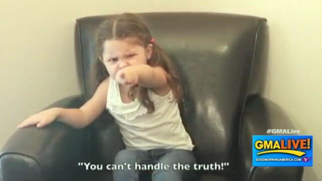 Your Favorite Movie Quotes Interpreted by 3-Year-Old