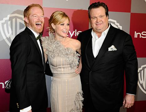 Julie Bowen, Eric Stonestreet, Jesse Tyler Ferguson Get Stuck in an Elevator En Route to Charity Event