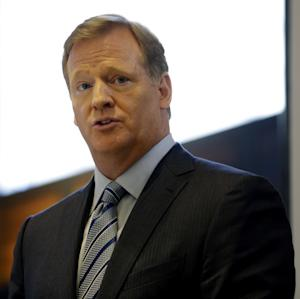 Goodell: NFL should listen to 'Redskins' protests
