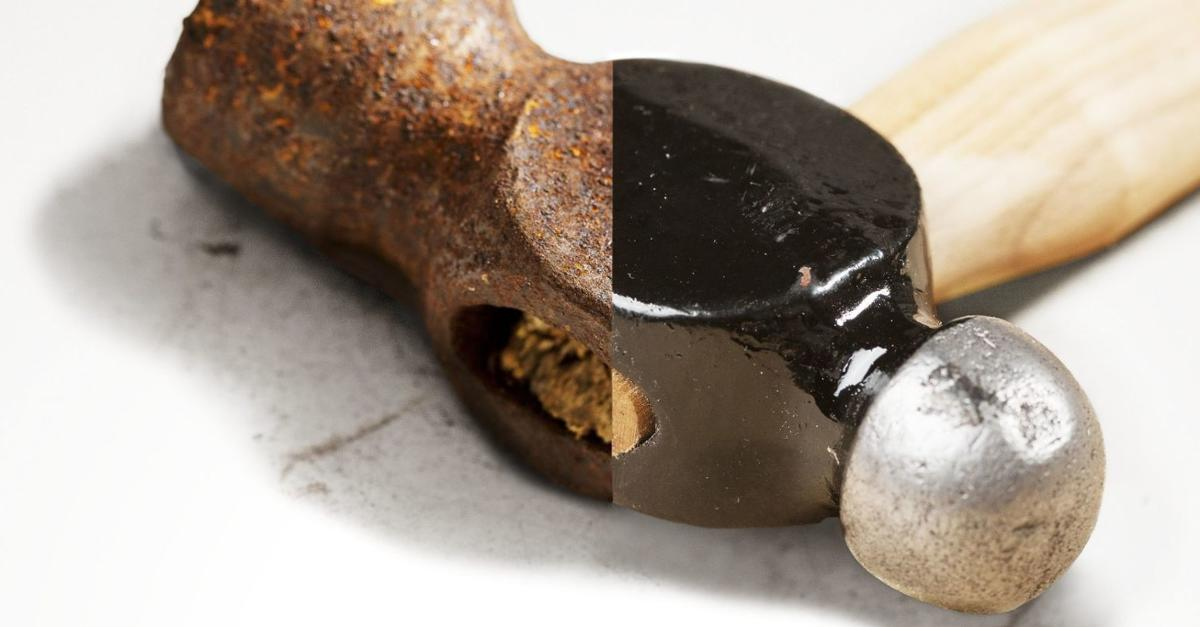 How to restore your rusty old tools