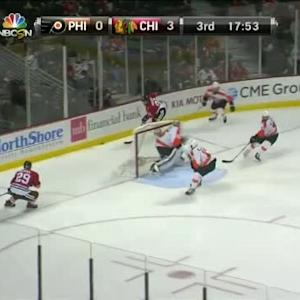 Steve Mason Save on Brad Richards (02:10/3rd)