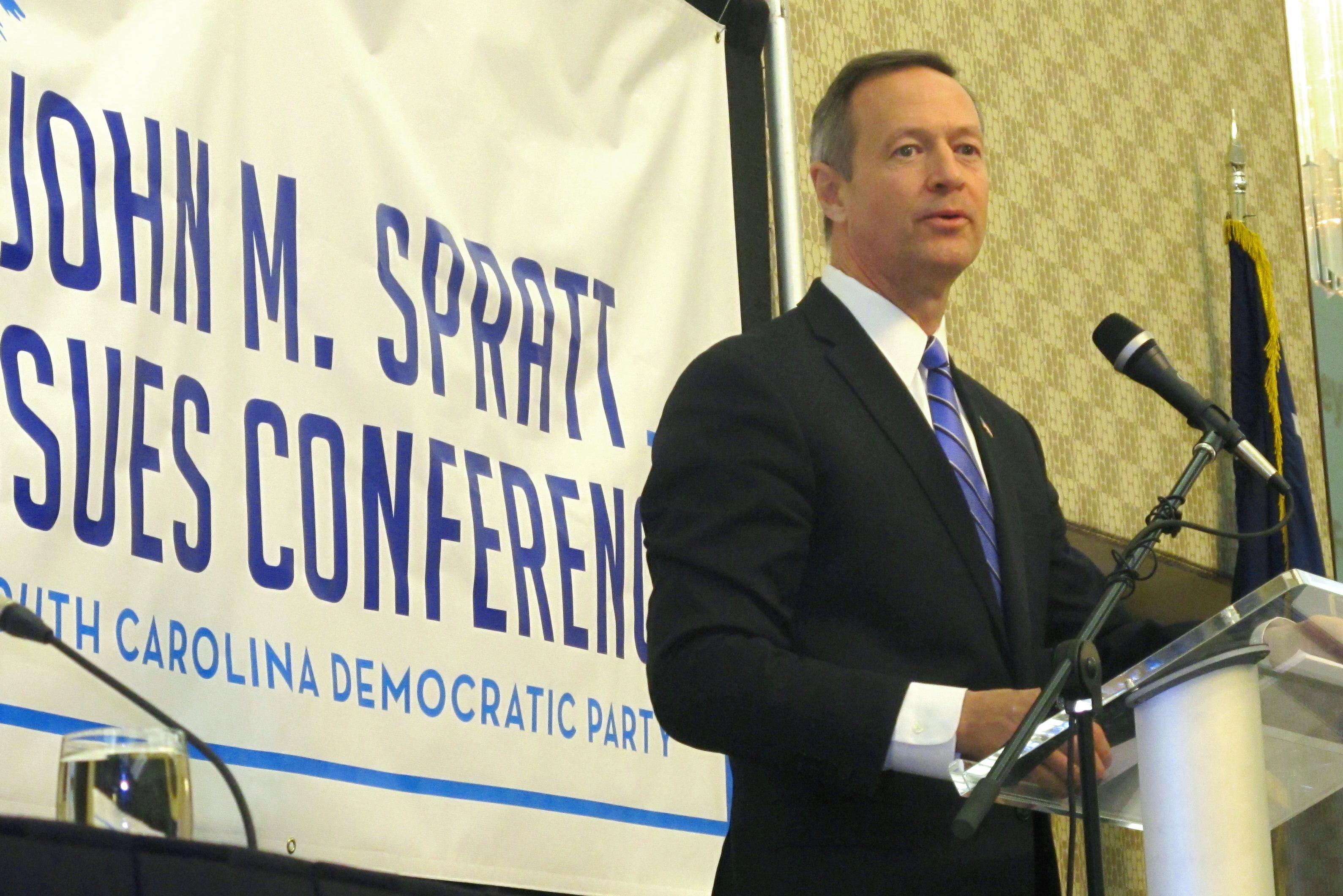 O'Malley points to financial regulation as a campaign issue