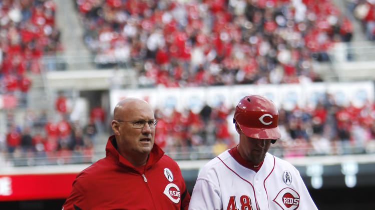 MLB: Los Angeles Angels at Cincinnati Reds