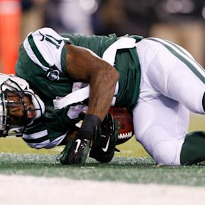 New York Jets wide receiver Jeremy Kerley 19-yard TD reception