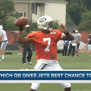 Which QB gives the New York Jets the best chance to win?
