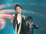 Sandy Lam loves sexy dancing