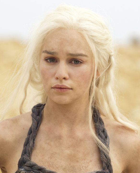 "Emilia Clarke stars as Daenerys Targaryen in ""Game of Thrones."""