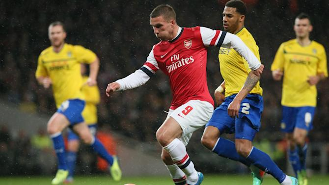 Arsenal tops Coventry 4-0, reaches FA Cup's 5th rd