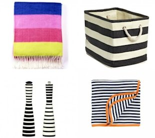 10 striped home accessories