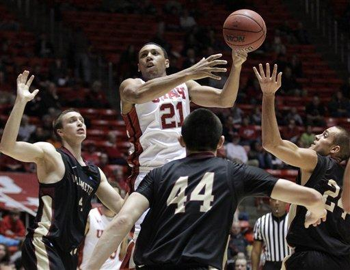 Loveridge's 18 lift Utah over Willamette 104-47
