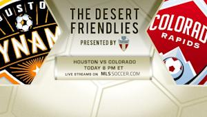 Tucson Friendlies: Watch HOU-COL on MLSsoccer.com, 8 pm ET