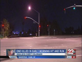 Pedestrian killed in hit & run crash