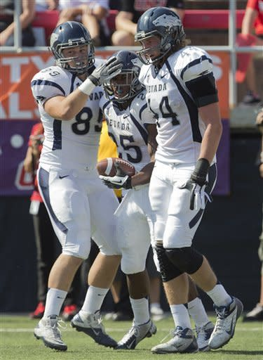 Nevada uses second-half surge to defeat UNLV 42-37