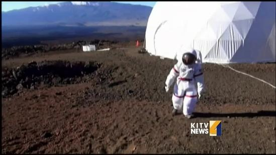 Researchers use Big Island as Mars training ground