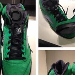Ducks Football Players Get Their Own Exclusive Shoes