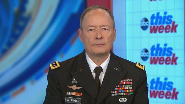 NSA Chief Keith Alexander: 'System Did Not Work As It Should Have' to Prevent Snowden Document Leaks