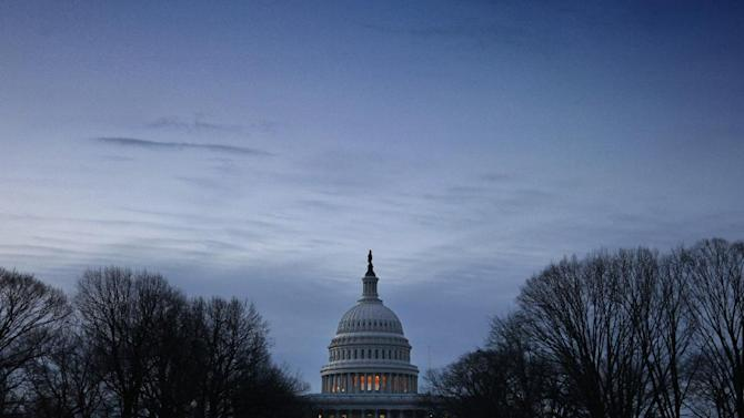 "The U.S. Capitol in Washington is seen at dawn, Wednesday, Dec. 12, 2012. Leading lawmakers have expressed pessimism that a deal to avert the ""fiscal cliff"" is close, despite increasing anxiety about a Dec. 31 deadline to stop the expiration of Bush-era tax cuts and separate across-the-board spending cuts that are the result of Washington's failure to complete a deficit-reduction  (AP Photo/J. Scott Applewhite)"