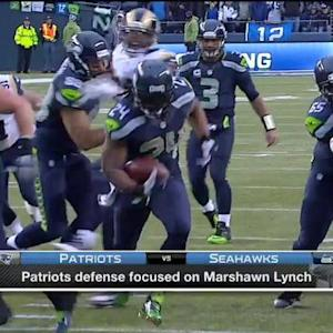 New England Patriots defensive focus is on Lynch