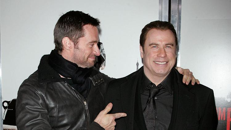 From Paris with Love NY Premiere 2010 Hugh Jackman John Travolta