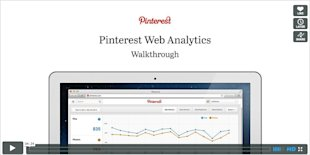 How Can Your Business Benefit From Pinterest's New Analytics Tool? image Pinterest analytics video