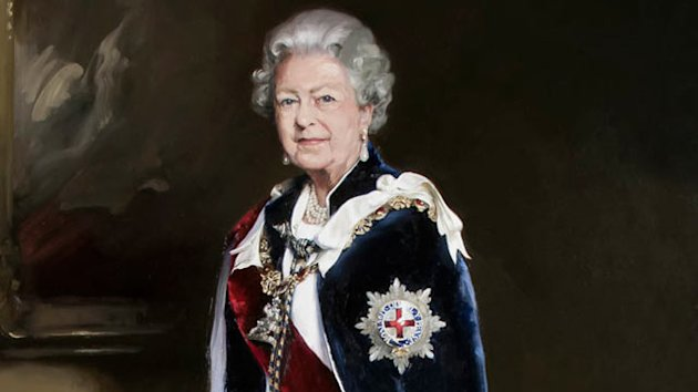 Queen's Portrait Compared to a 'Bloke Wearing a Wig' (ABC News)