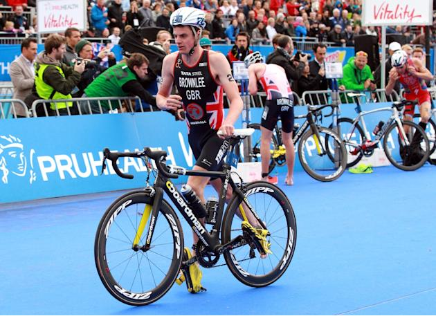 Athletics - Pruhealth World Triathlon - Elite Men Race Day - Hyde Park