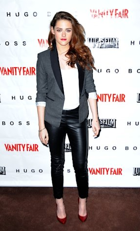 Kristen Stewart is seen at the 'On the Road' Vanity Fair Screening presented by Hugo Boss at Skywalker Ranch in San Francisco, Calif., on December 7, 2012  -- Getty Premium