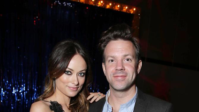 EXCLUSIVE CONTENT - PREMIUM RATES APPLY Olivia Wilde and Jason Sudeikis at New Line Cinema's World Premiere of 'The Incredible Burt Wonderstone' held at Grauman's Chinese Theatre on Monday, Mar., 11, 2013 in Los Angeles. (Photo by Eric Charbonneau/Invision for New Line Cinema/AP Images)