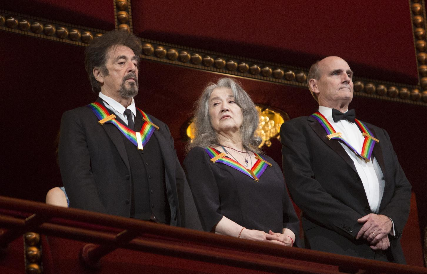 Pacino, Eagles, Taylor get Kennedy Center honors