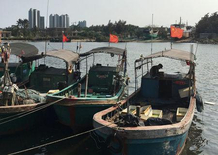 China trains 'fishing militia' to sail into disputed waters