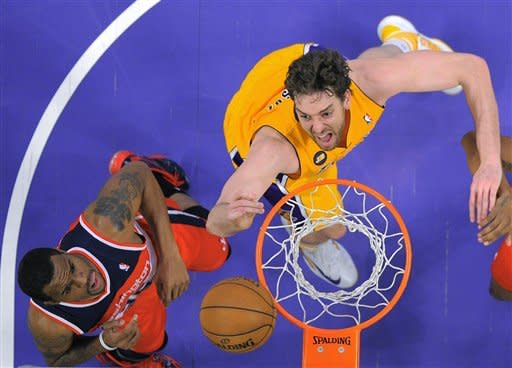 Wizards rally for 103-100 win over Lakers