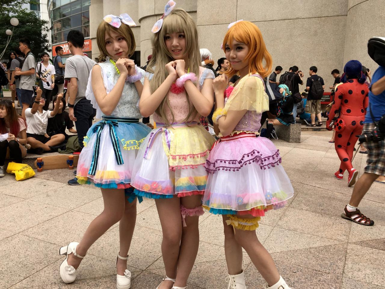 SLIDESHOW: J-Obsession 2016 cosplayers at The Cathay