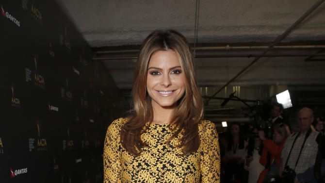 Maria Menounos attends the Australian Academy Of Cinema And Television Arts' 2nd AACTA International Awards at Soho House on January 26, 2013 in West Hollywood, California. (Photo by Todd Williamson/Invision/AP Images)