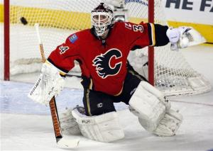 Iginla's goal lifts Flames to 3-2 win over Blues