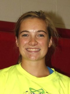 Lindsey Peterson suffered a freak season-ending injury last month -- school photo