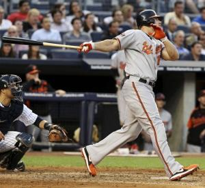 Davis hits go-ahead slam, Orioles beat Yankees