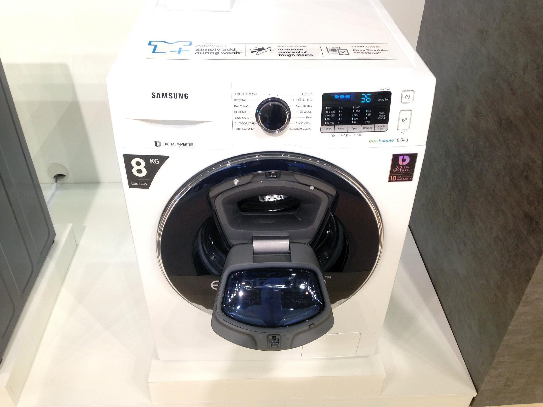 Samsung showcases smart appliances at European Forum