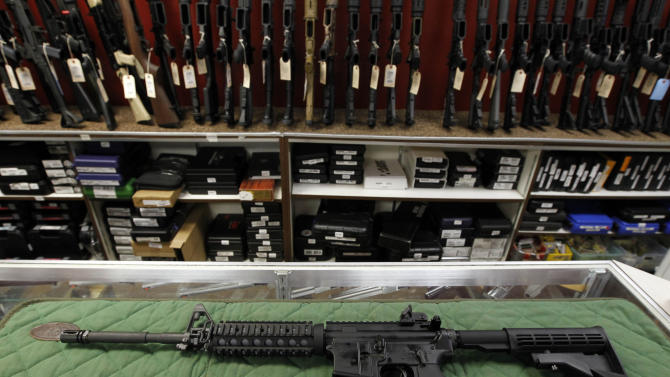 A look at military-style semiautomatic rifles