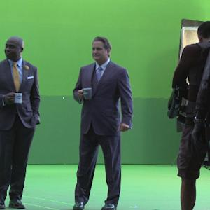 Exclusive behind-the-scenes look at the 'NFL GameDay' spot