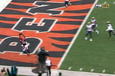 The Rams didn't cover A.J. Green. What happened next might shock you
