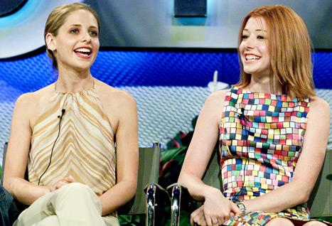 "Sarah Michelle Gellar Was ""Annoyed"" Doing Buffy the Vampire Slayer, Says Alyson Hannigan"