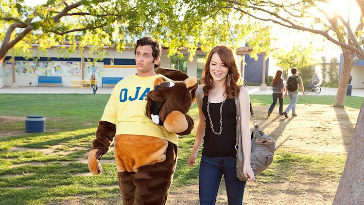 Easy A Screen Gems 2010 Penn Badgley Emma Stone