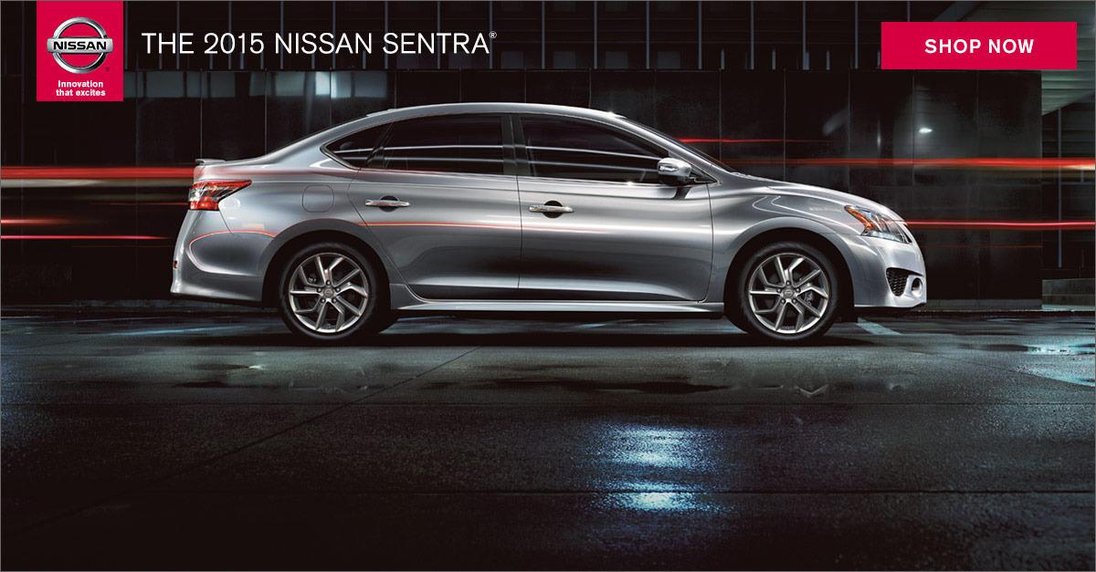 The Tech Savvy 2015 Nissan Sentra.