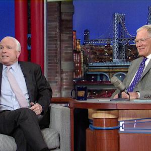 David Letterman - Senator John McCain on Sarah Palin
