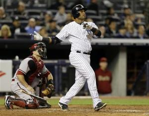 Cano hits 3-run HR, Yankees beat Diamondbacks 4-2