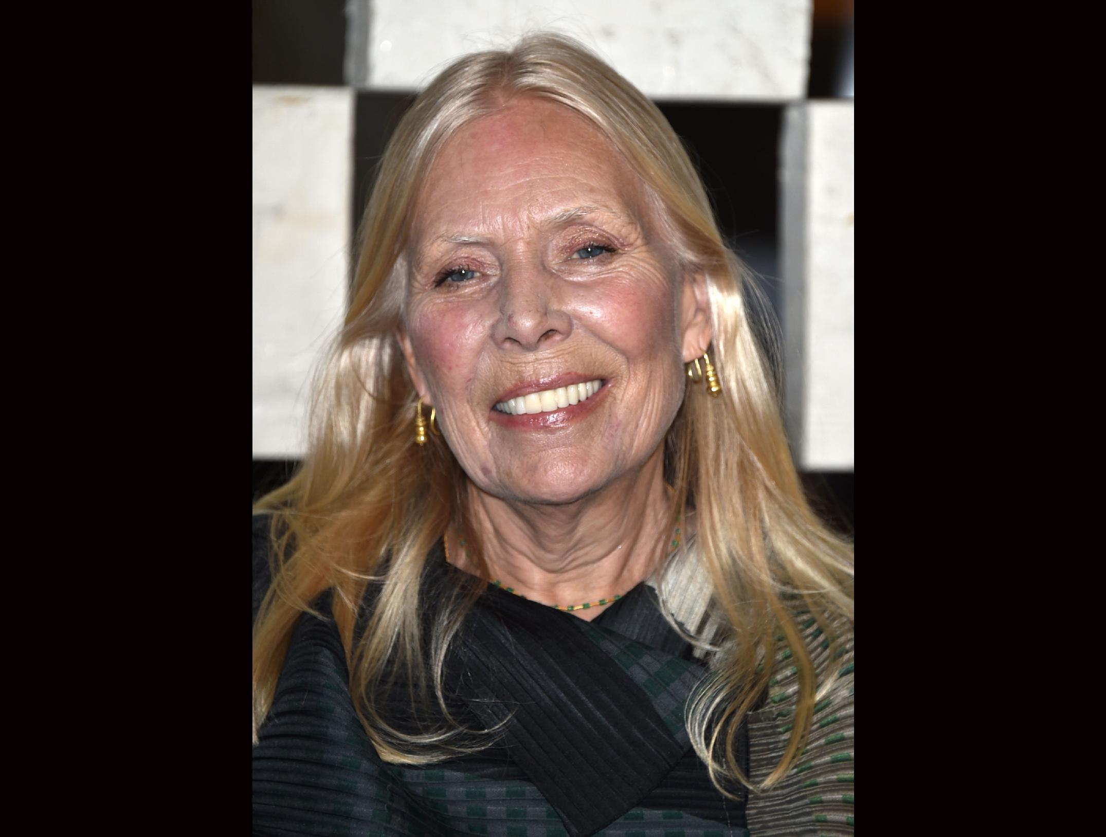 Joni Mitchell fans sending good vibes to hospitalized singer
