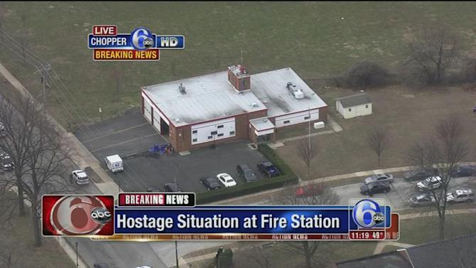 Suspect in custody after Elkins Park firehouse hostage situation