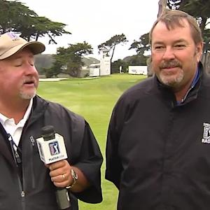 On-site preview of the final matches from TPC Harding Park